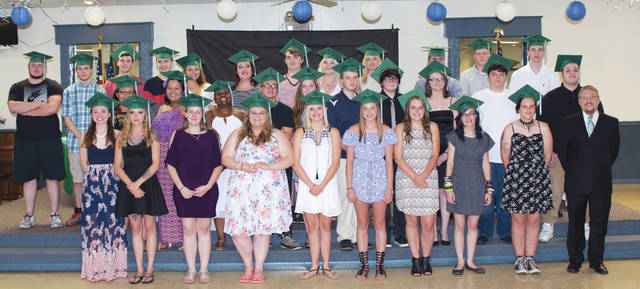 Submitted photo Thirty-four seniors graduated June 15 from the Fairborn Digital Academy.