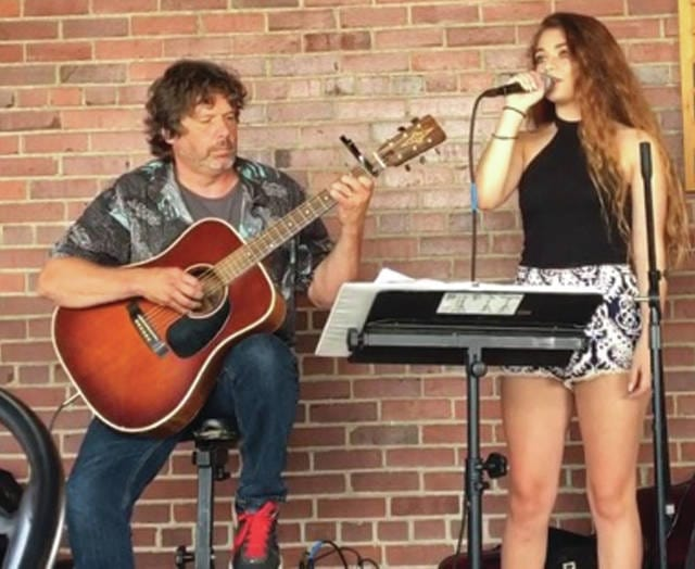 Submitted photo Danny Voris (left) and his daughter, Tosca, will be opening for Diana Krall at Fraze Pavilion in Kettering Sunday, June 25.