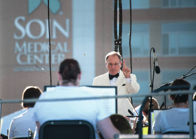 Submitted photos More than 2,500 community members enjoyed the Sounds of Summer concert at Soin Medical Center to celebrate its 5th anniversary. The evening featured the Dayton Philharmonic Orchestra with Neal Gittleman, artistic director and conductor.