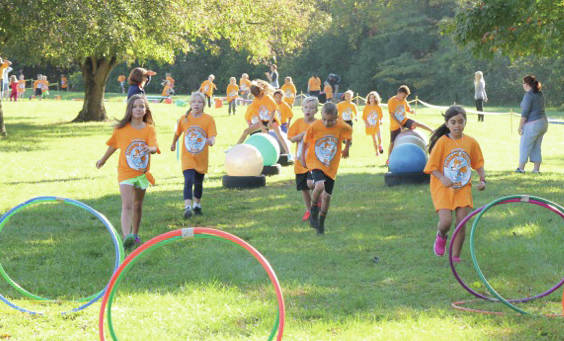 Submitted photos Fairbrook Elementary School Parent Teacher Organization will host its fundraiser to stress the importance of physical activity and teamwork.