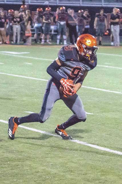 Don Tate | News-Current Senior Drew Nanda and the Beavercreek Beavers high school football team is currently ranked fifth in Division I, Region 3 of the latest Ohio High School Athletic Association computer poll. The top-8 teams in each region qualify for the post season playoffs.