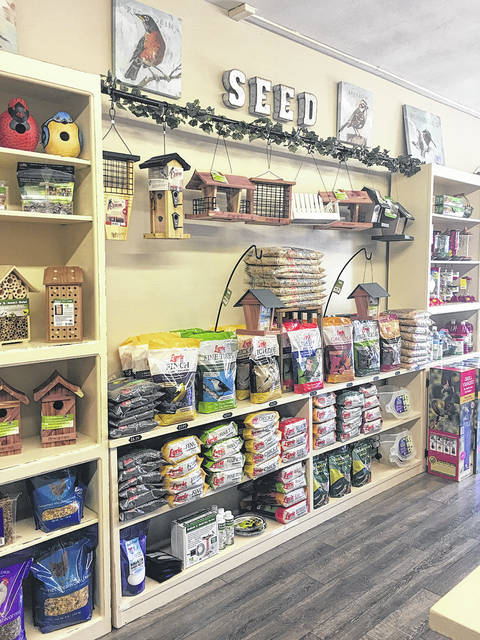 Danielle Coots | News-Current Ryan and Skyler Cobabe bring their love of birds to the Beavercreek with thier store located at 3787 Dayton-Xenia Road.