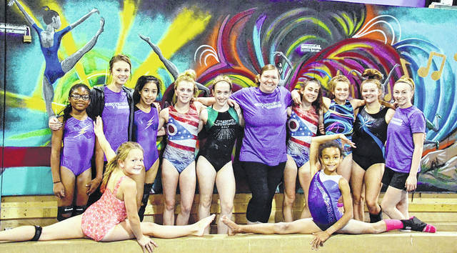 Danielle Coots | News-Current Erika Debolt and her husband teamed up to take over ownership of the Quest Gymnastics and Xtreme Sports Center in Beavercreek.