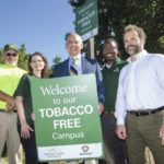 WSU erects smoke-free signage