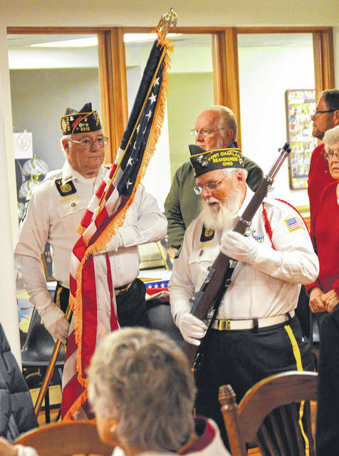 Beavercreek VFW Post 8312 presented the honors for the event.