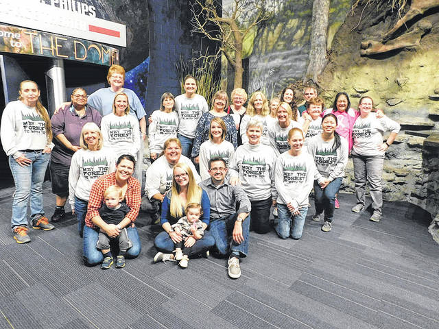 Submitted photo To celebrate Evergreen's anniversary, the center rented the Boonshoft Museum of Discovery for a night and invited all its current families and both current and former staff members.