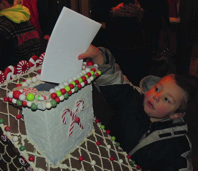 Letters to Santa can by written and mailed with help from the Greene Memorial Hospital elves.