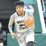 Simmons skies high for Wright State