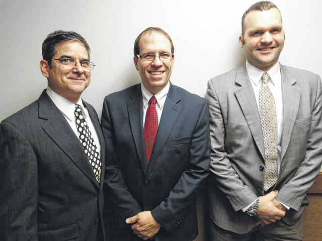 Submitted photo Clark Taylor of Beavercreek has been named the new bishop of The Church of Jesus Christ of Latter-day Saints. His counselors are Frank Aleccia and Robert Hughes.