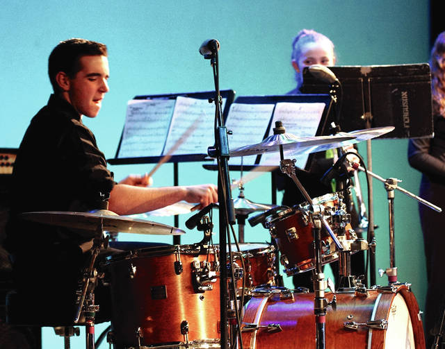 Barb Slone | Greene County News Beavercreek Weekend of Jazz continued March 3 at Beavercreek High School. Beavercreek High School Jazz Two takes the stage in the afternoon, along with other middle and high schools from throughout Southwest Ohio.