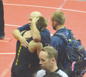 Wrestlers feel highs, lows at state
