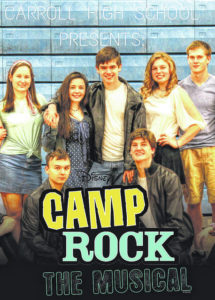 Students perform Disney's Camp Rock
