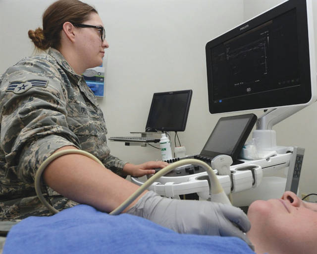 Submitted photo The Wright-Patterson 88th Medical Group is participating in a civilian Health Information Exchange program that provides real time patient information and improves communication with civilian providers.