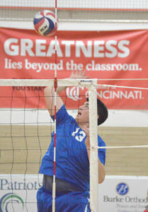 Carroll volleyball sweeps Cavaliers