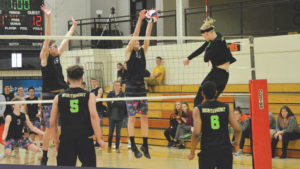 Beavers win state-ranked volleyball battle