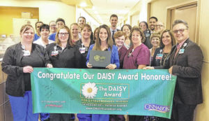 Award given to Soin nurse