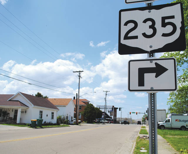Whitney Vickers | Greene County News Xenia Drive, or State Route 235, in Fairborn will soon undergo construction.