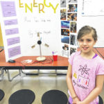 Trebein Elementary students study science