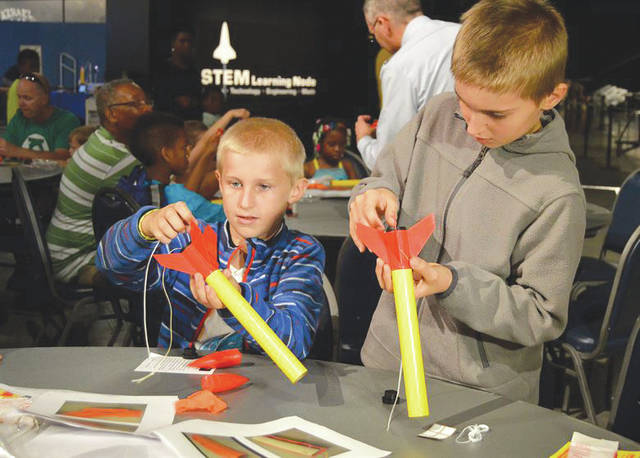 Submitted photo Participants enjoyed a number of hands-on activities during Space Fest on May 15-16 at the National Museum of the U.S. Air Force.