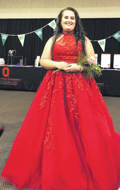 Submitted photo Ashley Howard, 17, of Beavercreek Township was recently crowned Miss Beavercreek Runner Up in June. She is a senior at Beavercreek High School Greene County Career Center.