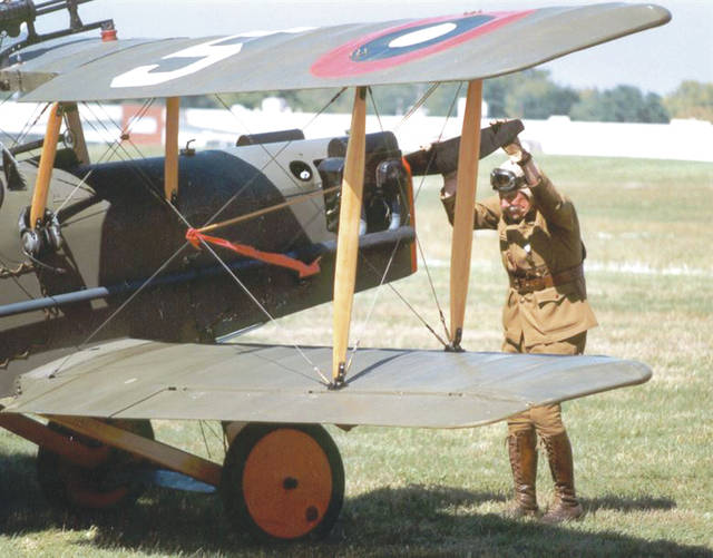Submitted photo Commemorate the 100th anniversary of the end of World War I as one of the nation's premier historical aviation events brings the excitement and adrenaline of early air power to Ohio, Sept. 22-23 at the National Museum of the U.S. Air Force.